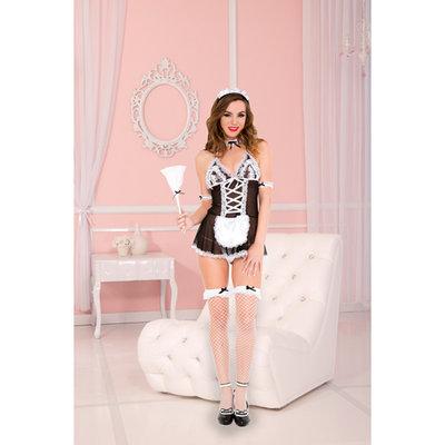4-Delig Sexy Dienstmeisje Kostuum