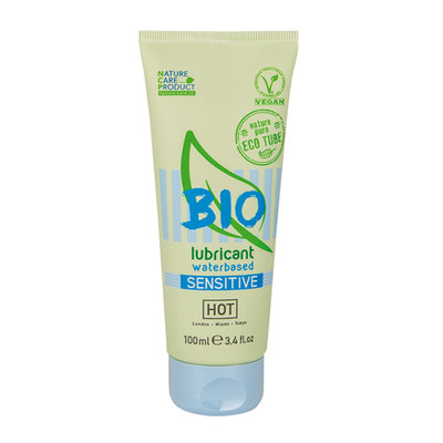 HOT BIO Sensitive Waterbasis Glijmiddel - 100ml