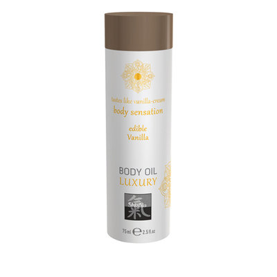 Luxe Eetbare Body Oil - Vanille