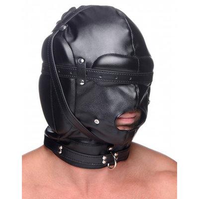Bondage Masker Met Ball Gag Met Gaten