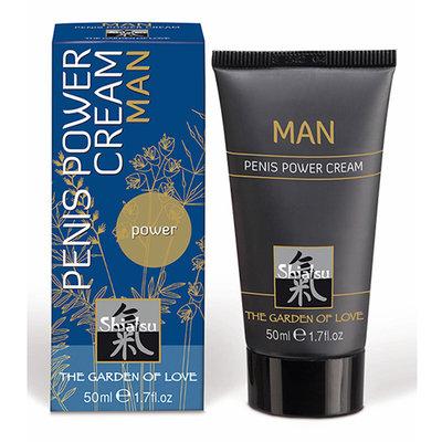 Shiatsu stimulerende crème voor mannen