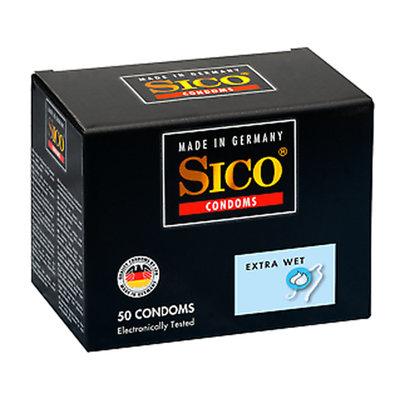 Sico Extra Wet Condooms - 50 Stuks