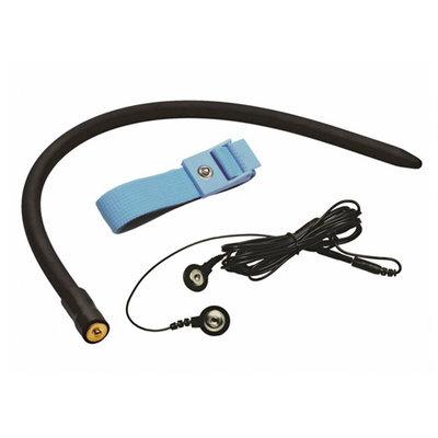 Amplifier E-Stim Cock & Ball Strap Met Dilator
