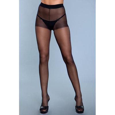 Skin To Skin High-Waist Panty - Zwart