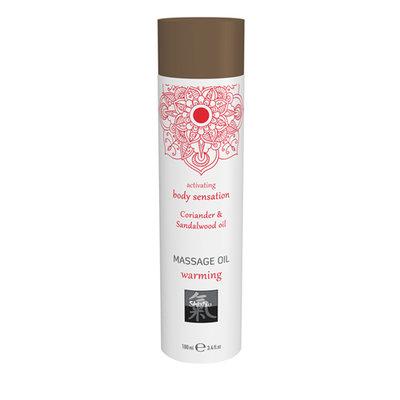 Verwarmende Massage Olie - Koriander & Sandelhout