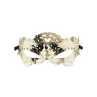 Venetiaans masker Vlinder - Goud