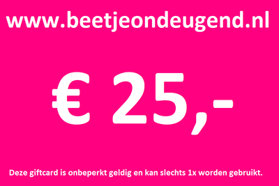 Giftcard t.w.v. € 25,-