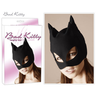 Zwart Kattenmasker