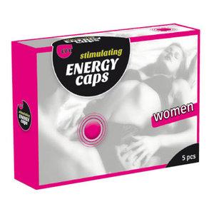 Stimulerende energie capsules voor vrouw